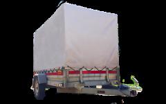 Tarpaulin trailer